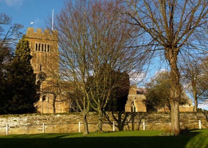 Saxon church, All Saints', Earls Barton, Northamptonshire