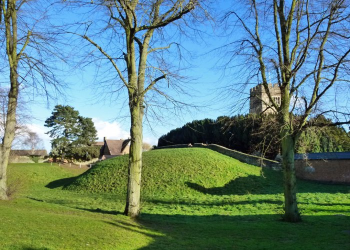 Berry Mount, motte, fort, Earls Barton