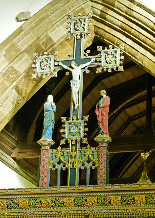 Rood cross, Earls Barton, Northamptonshire