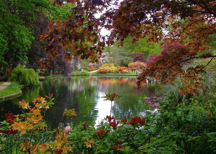 Exbury Gardens, Hampshire, visit, Britain