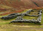 Hardknott Roman Fort, bath house, Cumbria