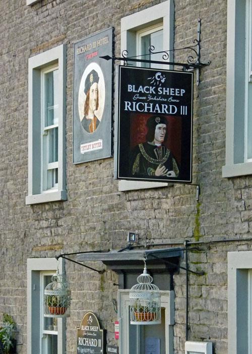 Richard III, pub, Middleham