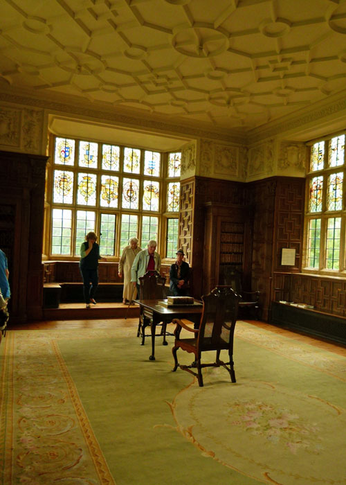 Montacute House, library, Victorian