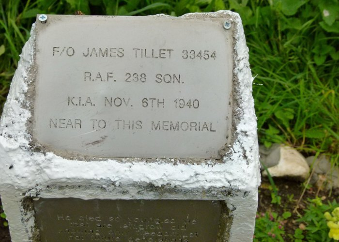 Tillet, memorial, RAF, Pook Lane, Battle of Britain