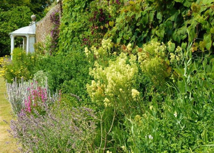 Uppark, garden, house, West Sussex