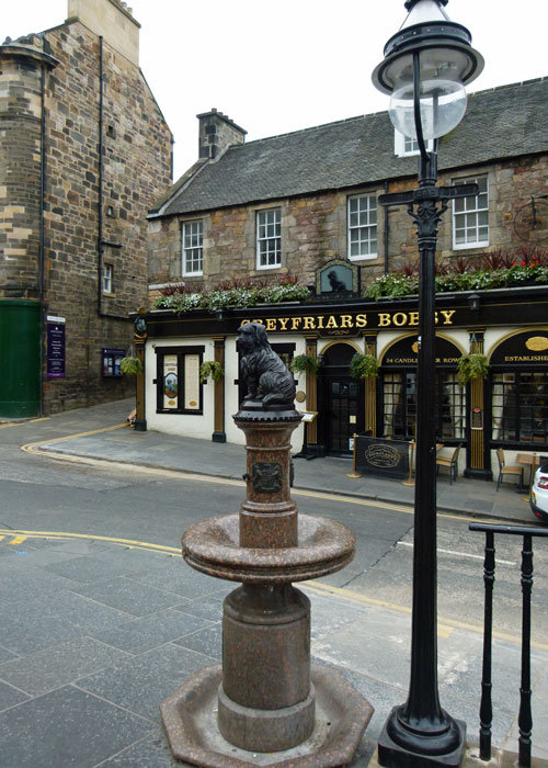Greyfriars Bobby, Candlemakers Row, King George IV Bridge, Edinburgh