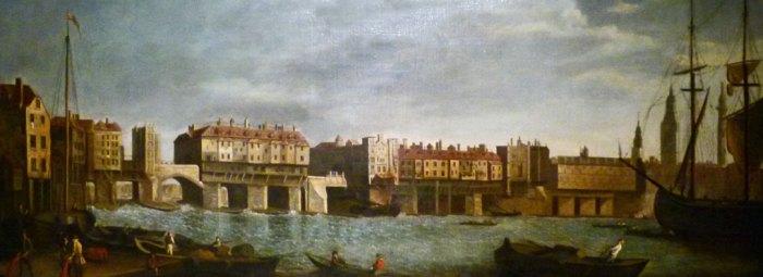 Guildhall Art Gallery, Old London Bridge