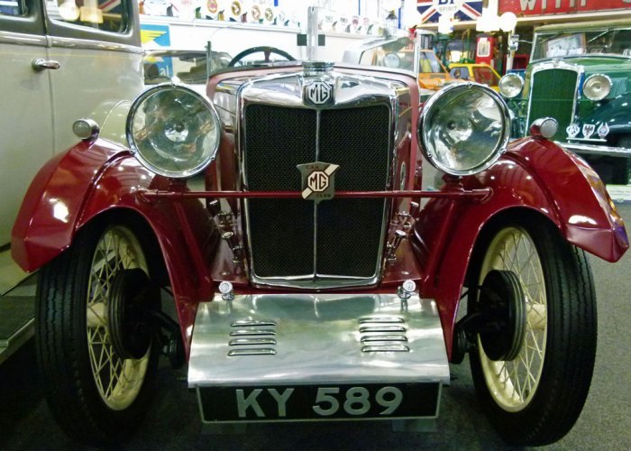 MG 1931 Lakeland Motor Museum