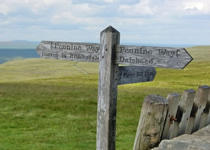 Pen-y-Ghent, Pennine Way, Horton in Ribblesdale
