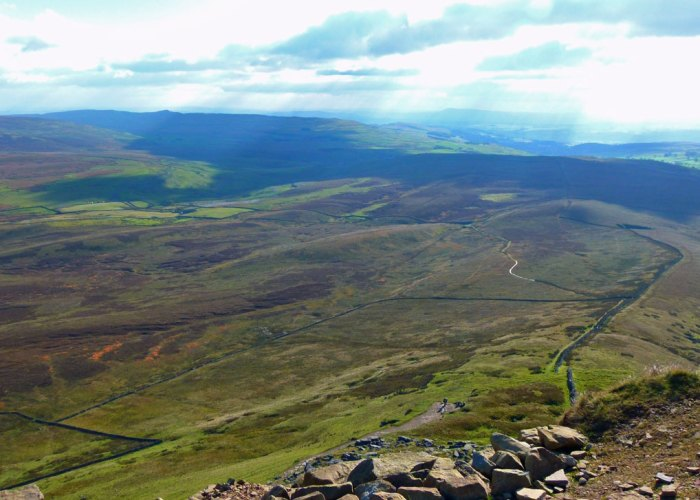 Walking, Three Peaks, Yorkshire, Pen-y-Ghent,