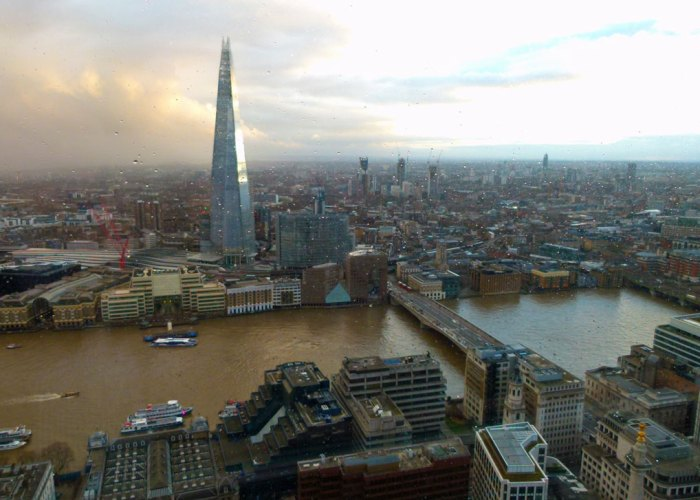 South, Sky Garden, London Bridge, the Shard