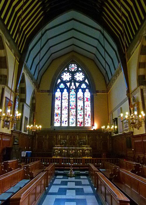 Balliol's Chapel, Oxford, St Catherine of Alexandria