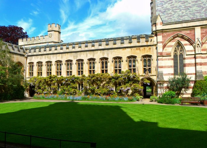 Balliol, Oxford, Front Quad