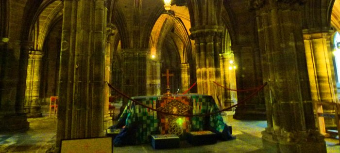 St Kentigern's (Mungo's) tomb, Glasgow Cathedral