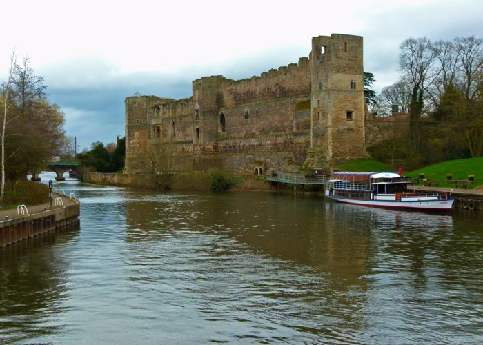 Newark Castle, Newark-on-Trent, Nottinghamshire, visit