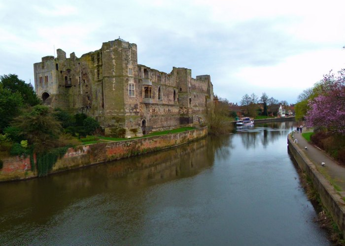 Newark Castle, Nottinghamshire, castles in the Midlands, visit