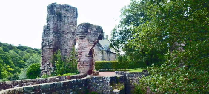 Rosslyn Castle, near Roslin, Midlothian
