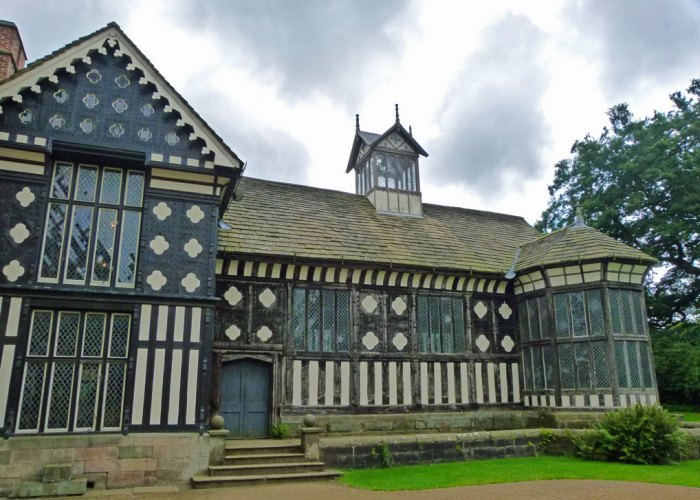 Rufford Old Hall, Tudor building, Lancashire