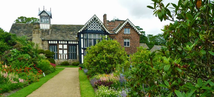 Rufford Old Hall, Tudoe building, National Trust, Lancashire