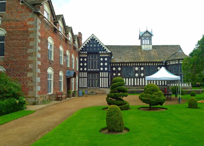 Rufford Old Hall, Tudor, Jacobean, Victorian, Lancashire