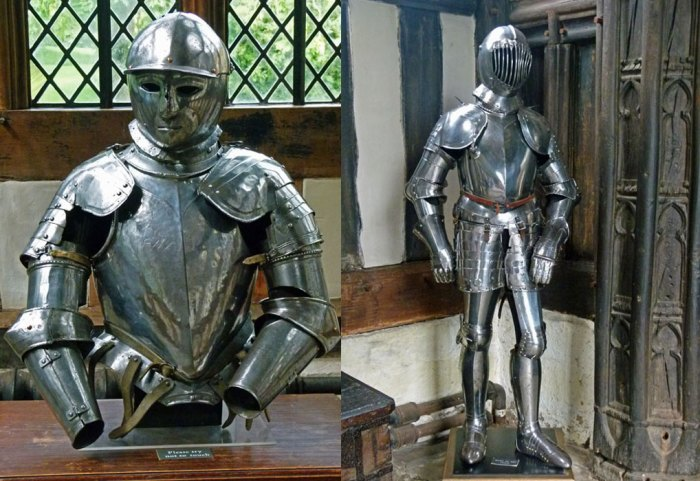 Rufford, armour