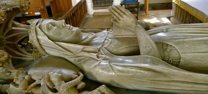 Alice de la Pole, Chaucer's granddaughter, St Mary's, Ewelme