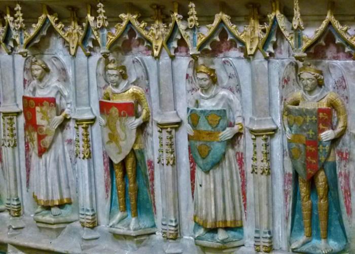Alice de la Pole, tomb, decoration, Ewelme