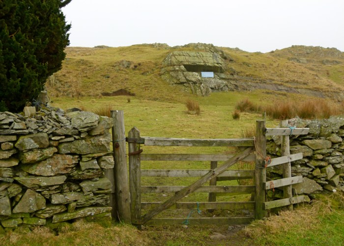 Fox's Pulpit, Firbank Fell, Quakers, Cumbria