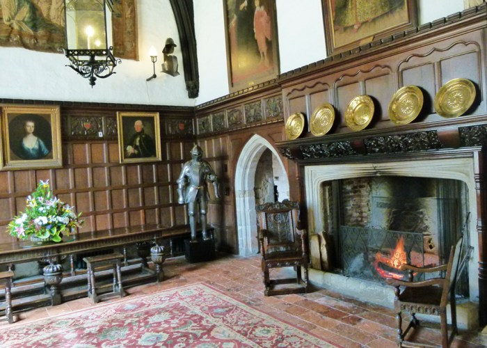 Ightham Mote, Kent, great hall