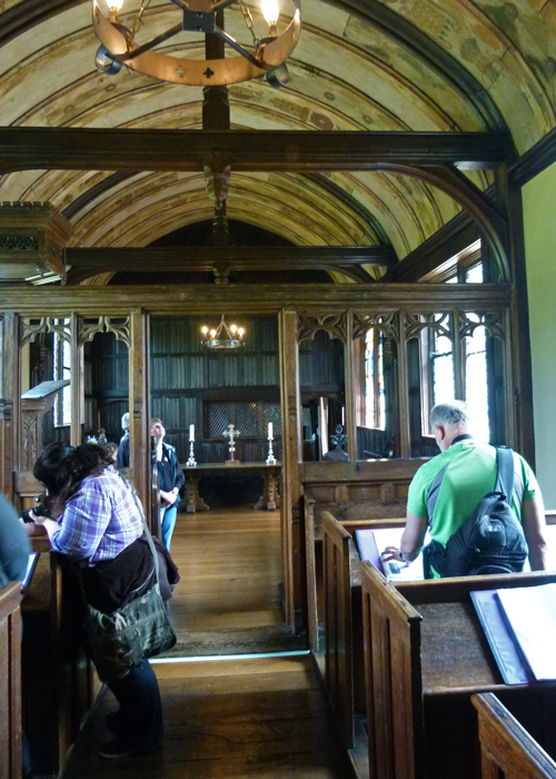 Ightham Mote, Kent, chapel, Richard Clement