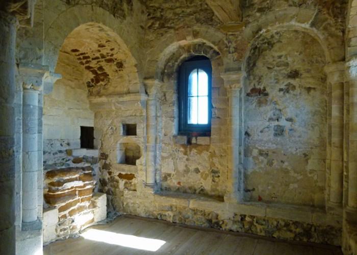 Orford Castle, chapel, medieval castle