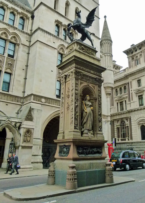 Temple Bar, memorial, Fleet Street, London