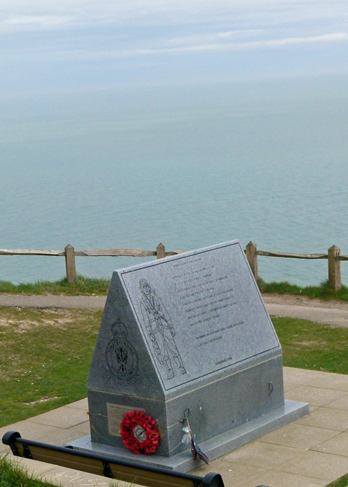 Memorial, RAF, Bomber Command, Beachy Head, East Sussex