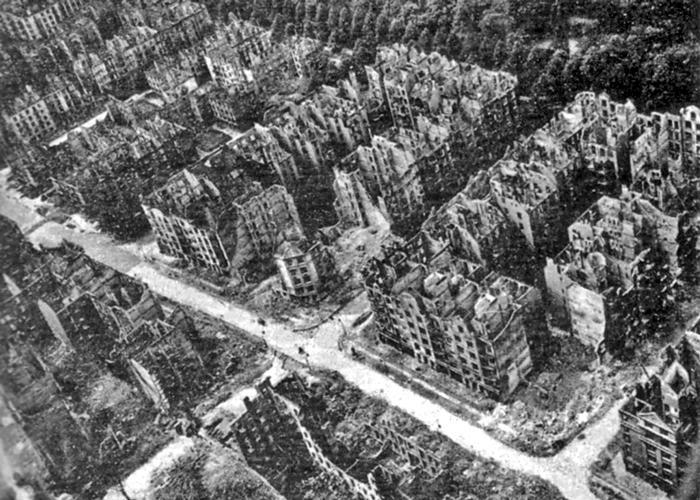 Dresden, bombing, 1945