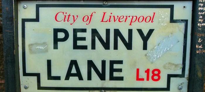 Penny Lane, Beatles, McCartney, Liverpool