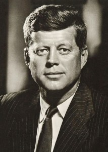 3th President, USA, John Fitzgerald Kennedy