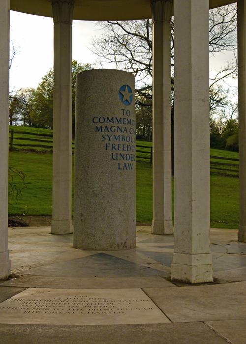 Magna Carta Memorial, Runnymede, Surrey