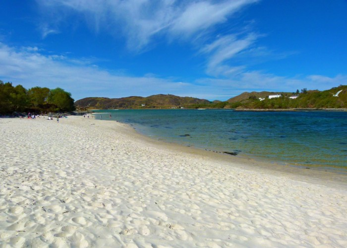 The Silver Sands of Morar, Visit Scotland
