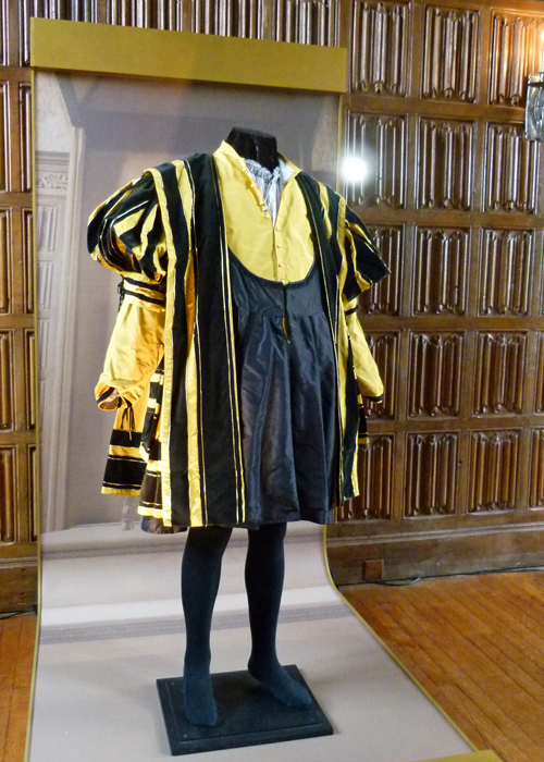 Costumes, Wolf Hall, Damian Lewis , Henry VIII