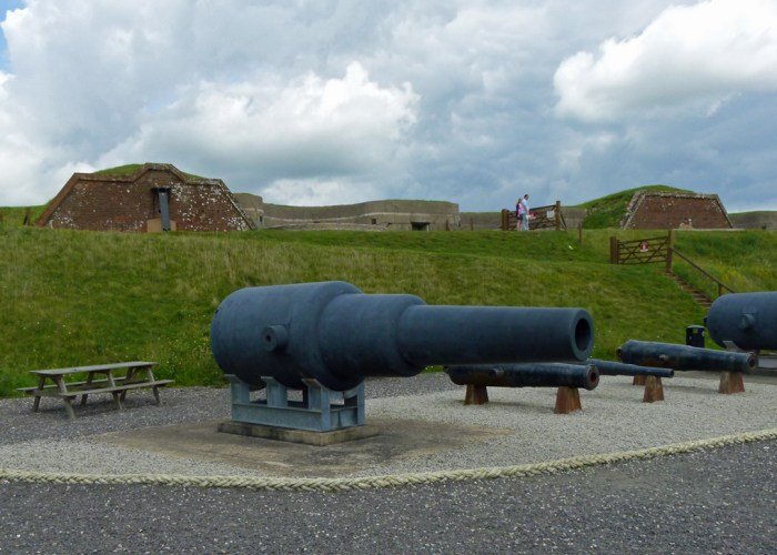 Fort Nelson, ramparts, Portsmouth