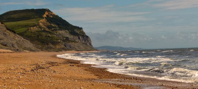 Between Golden Cap and Charmouth