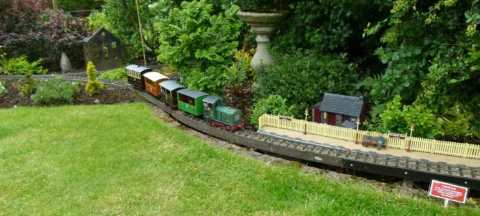 Burton in Lonsdale, open gardens, railway