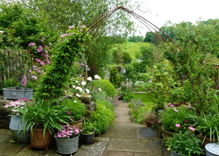 Open gardens, Burton in Lonsdale, Yorkshire