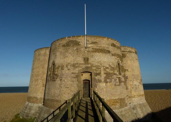 Aldeburgh, Martello tower, Landmark Trust, Suffolk