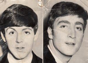 Paul McCartney, John Lennon, 1963