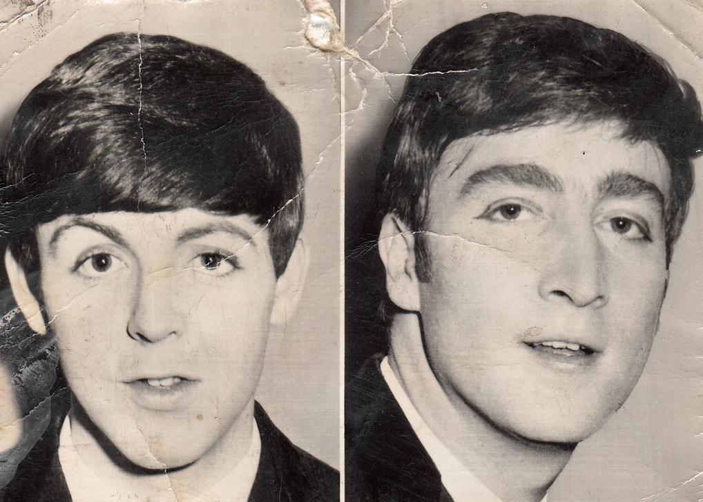 Paul McCartney John Lennon 1963 A Short Discourse On Being Beatles Fan