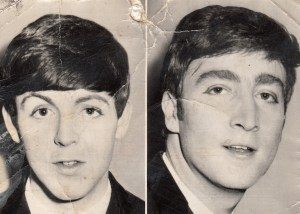 Paul McCartney, John Lennon, 1963