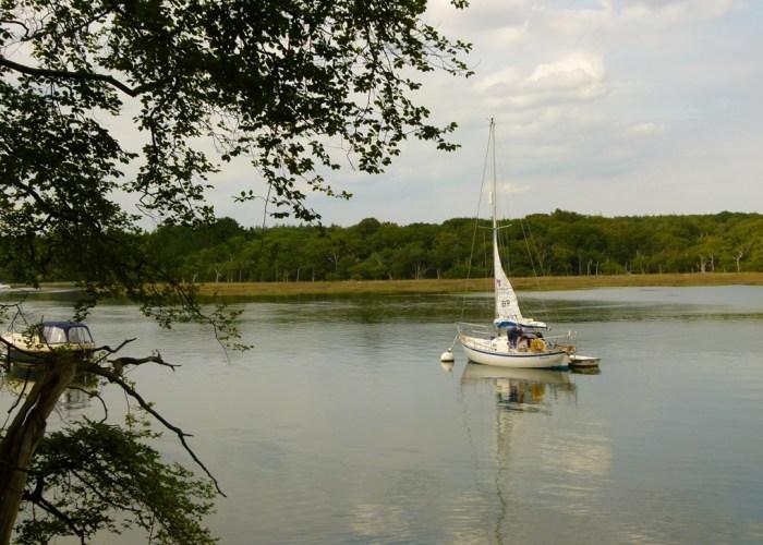 Beaulieu River, Buckler's Hard, yachts, visit Hampshire