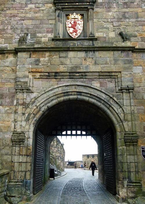 Portcullis Gate, visit, Edinburgh Castle