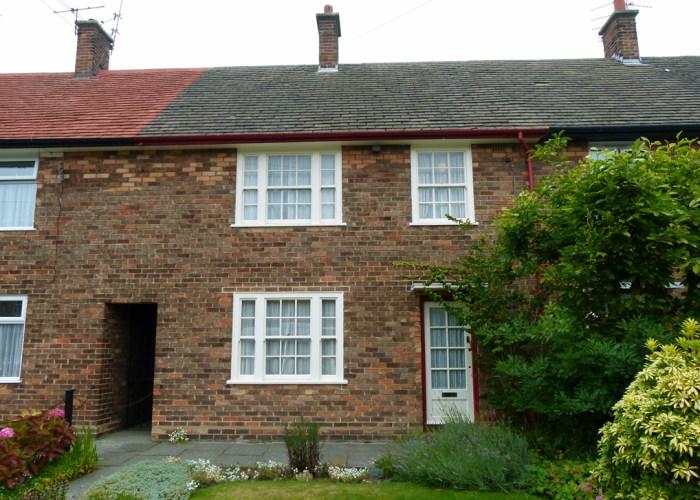 Paul McCartney's home, 1955, Beatlemania, 20 Forthlin Road, Allerton